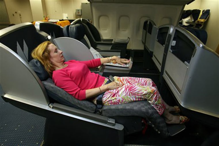 Image: American Airlines' 767 next-generation business-class seat