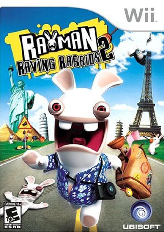 Image: Video game, Rayman Raving Rabbids 2
