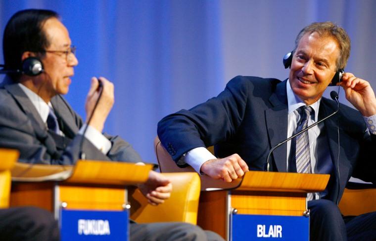 Image: Tony Blair, World Economic Forum
