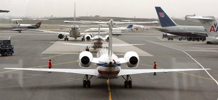 Image: Airline delays