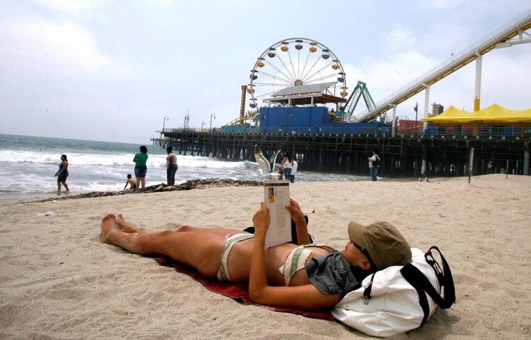 Image: Santa Monica Beach solo