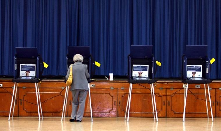 Image: Republican Voters Participate In The Florida Primary
