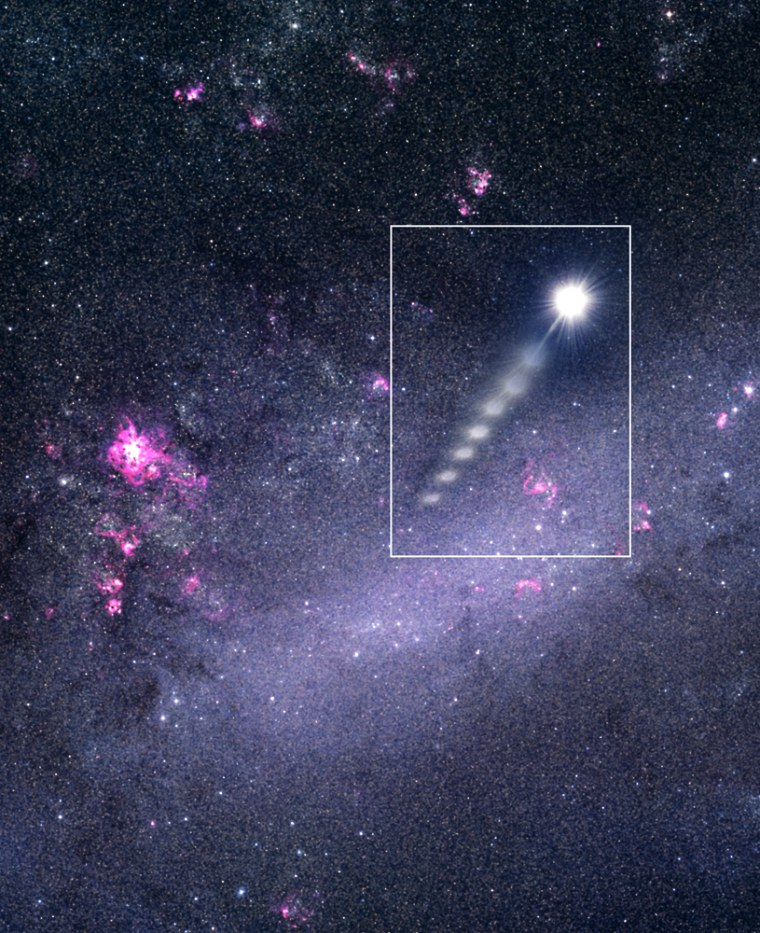 Image: Ejected star