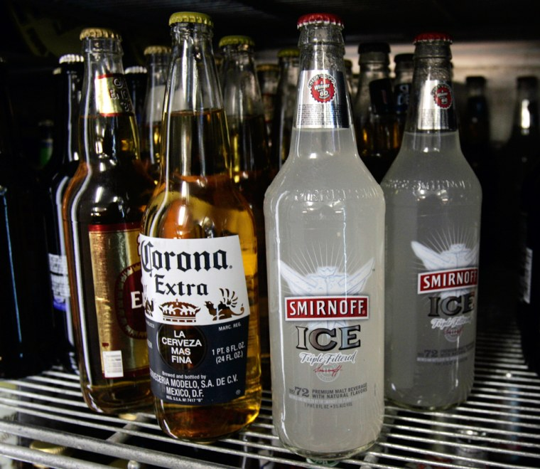 """Image: New York Gov. Eliot Spitzer wants to redefine \""""hard\"""" lemonade and other flavored alcohol drinks as liquor instead of beer, to increase tax revenue."""