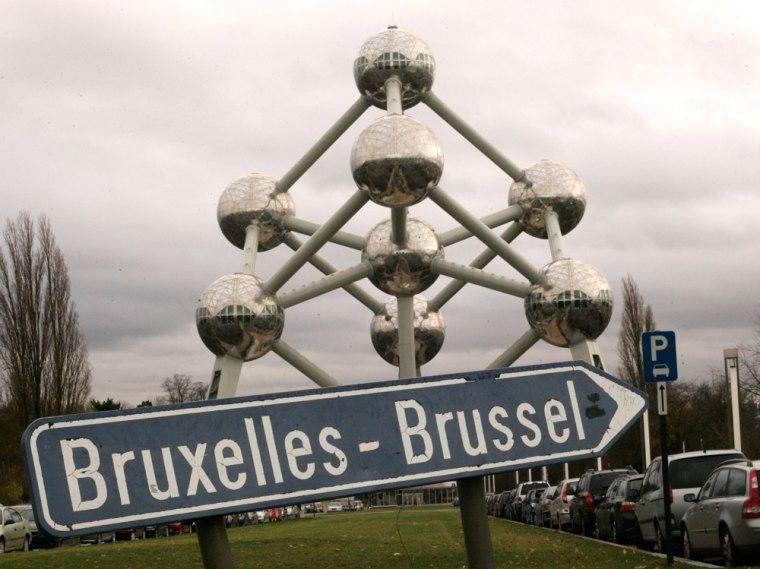 Image: The Atomium sculpture