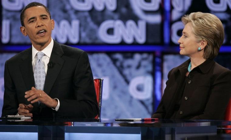 Image: Hillary Rodham Clinton, Barack Obama