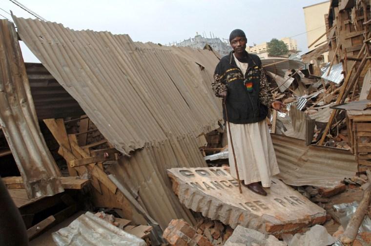 Image: Earthquake in Congo and Rwanda