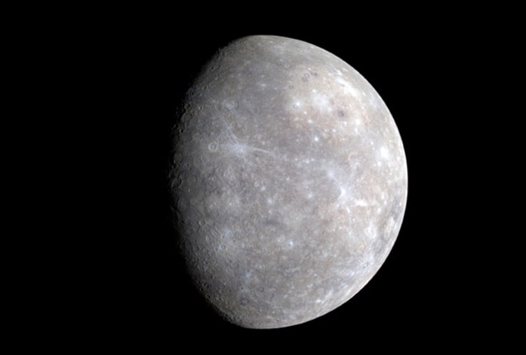 Image: Mercury from Messenger spacecraft