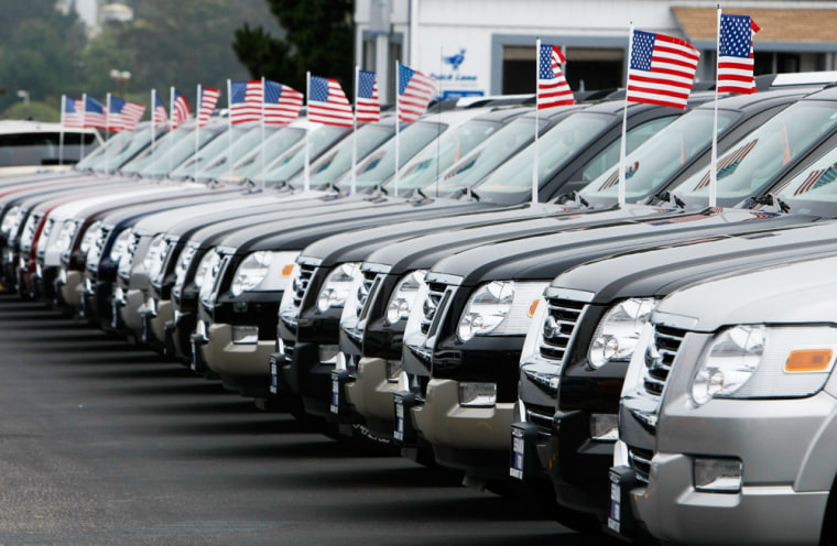 Image: US Automakers Report August Sales