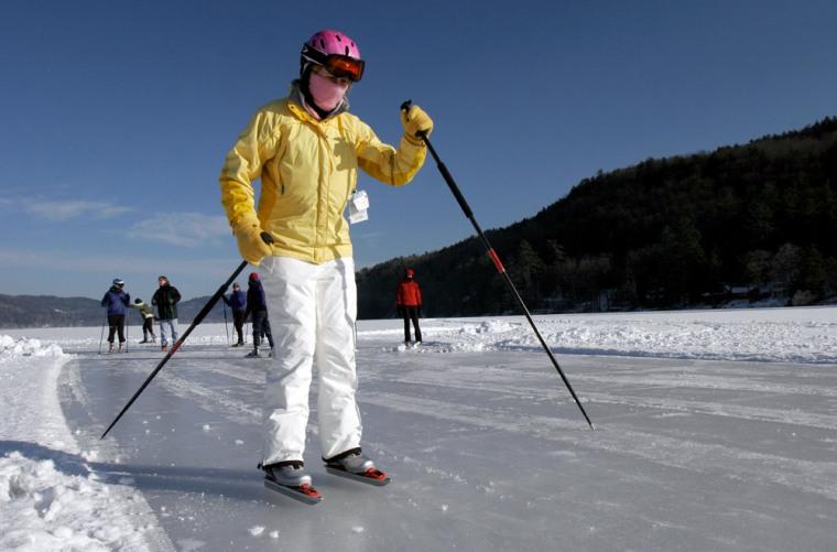 Image: Nordic skating