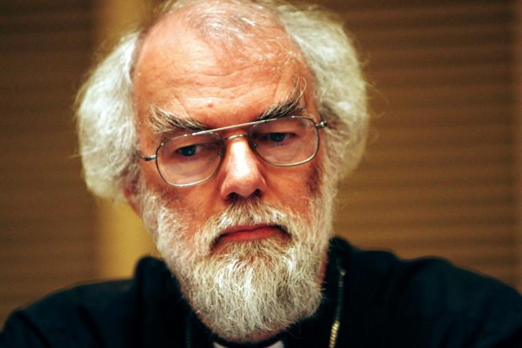Image: Rowan Williams, archbishop of Canterbury