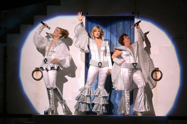 Mamma Mia! at Mandalay Bay—the most successful Broadway import in Vegas history—is slated to depart in January 2009, so hurry over to see the tale of a daughter hoping to learn which of her mom's three ex-boyfriends is her dad. The story is really secondary to the ABBA music, so if you are an ABBA fan, don't leave when the show seems over—three hits that don't fit in the narrative get a rousing encore-style concert performance.