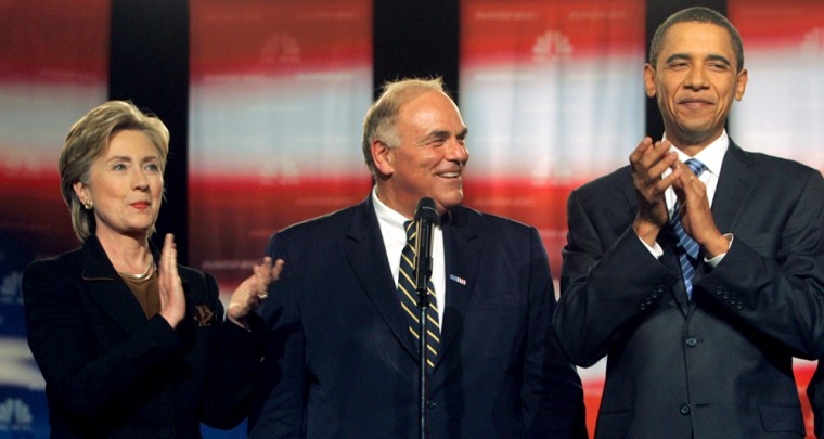Image: Ed Rendell, Hillary Rodham Clinton, Barack Obama