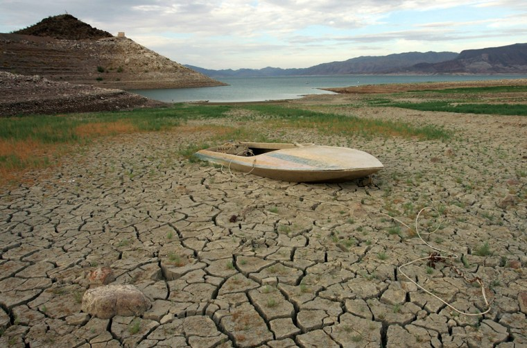 Image: Drought Drops Lake Mead Water Level To 40 Year Lows