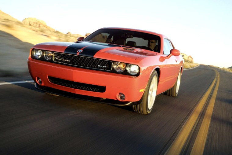 The new Dodge Challenger