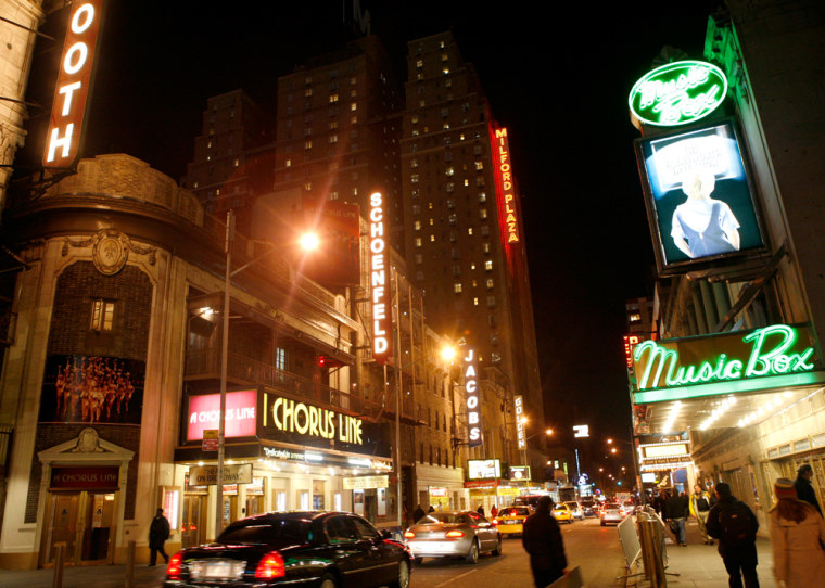 Image: Broadway theaters