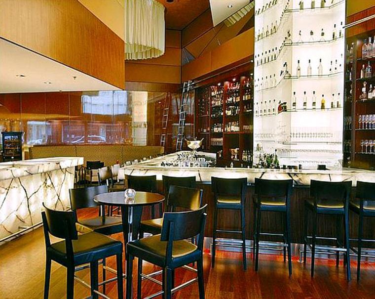 Image: Onyx Bar at the Zurich Park Hyatt