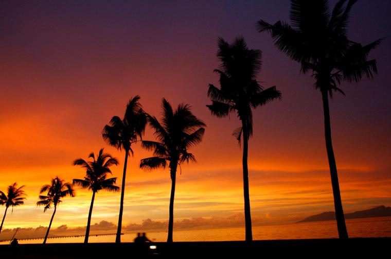 Image: Sunset photograph