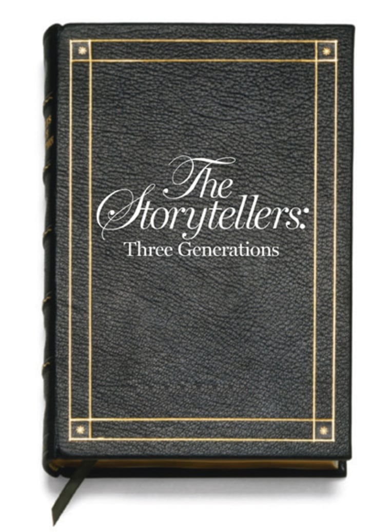 Image: The Storytellers book