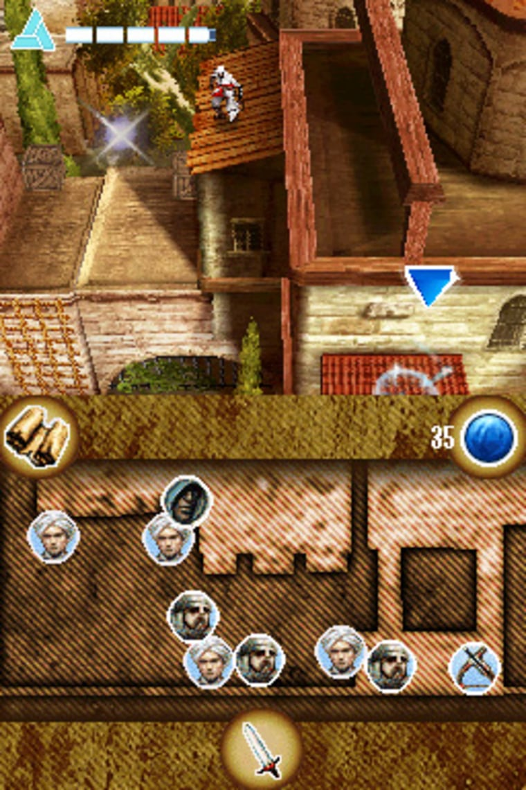Image: Assassin's Creed for the DS