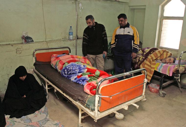 Image: hospital in Sadr City