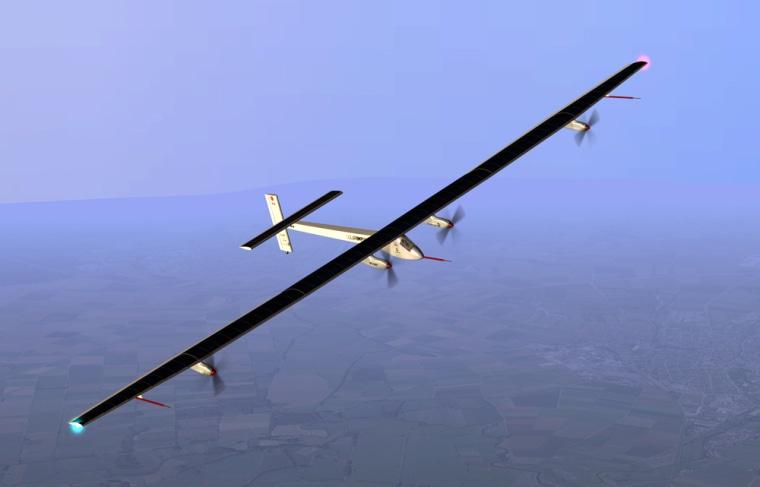 Image: Solar Impulse plane