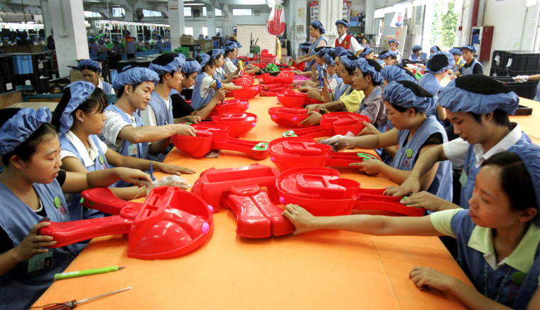 Image: Chinese toy factory