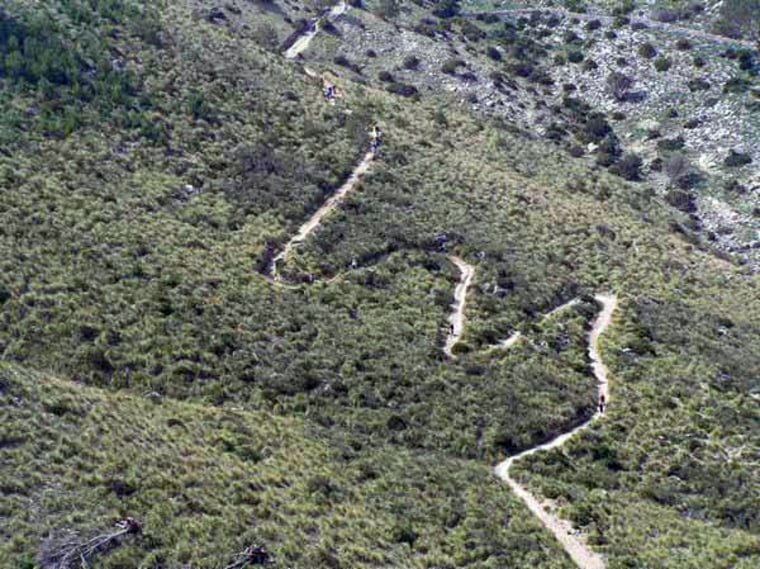 Image: Trails in Mallorca, Spain