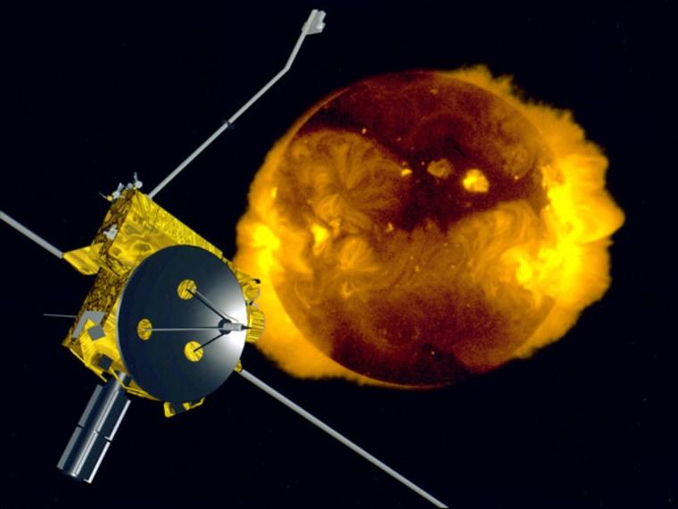 Image: Ulysses space probe