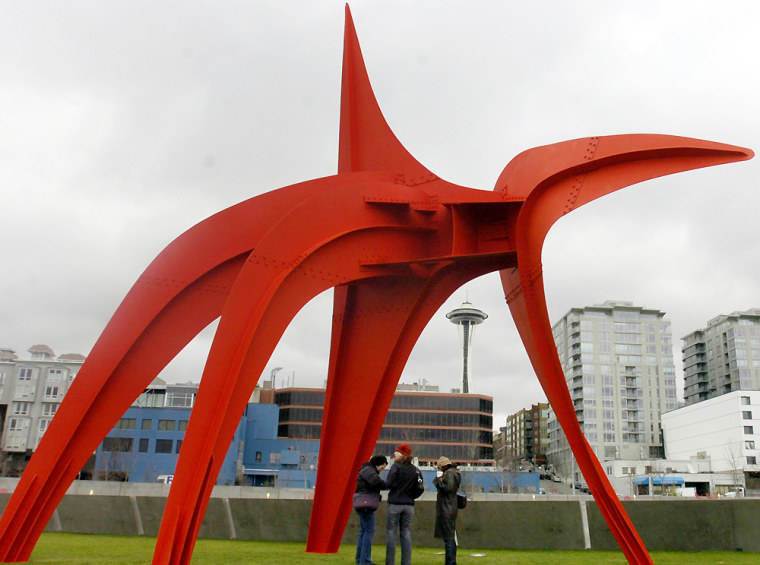 Image: Olympic Sculpture Park, Seattle