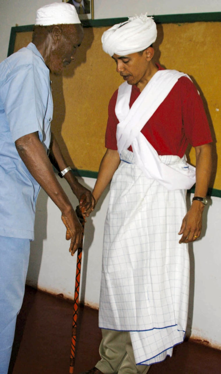 Image: Barack Obama, Mahmed Hassan,