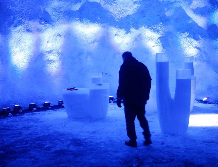 """Image: """"Doomsday"""" vault in Norway"""