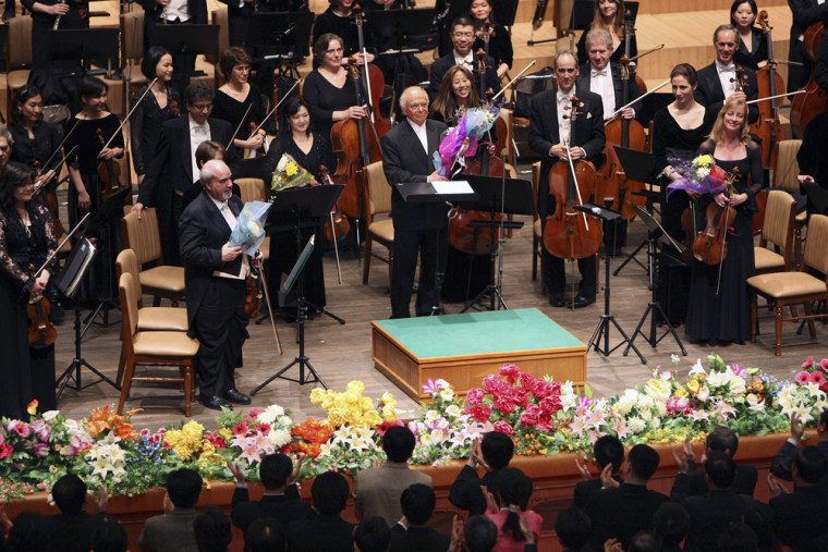 Image: New York Philharmonic's performance in Pyongyang, North Korea
