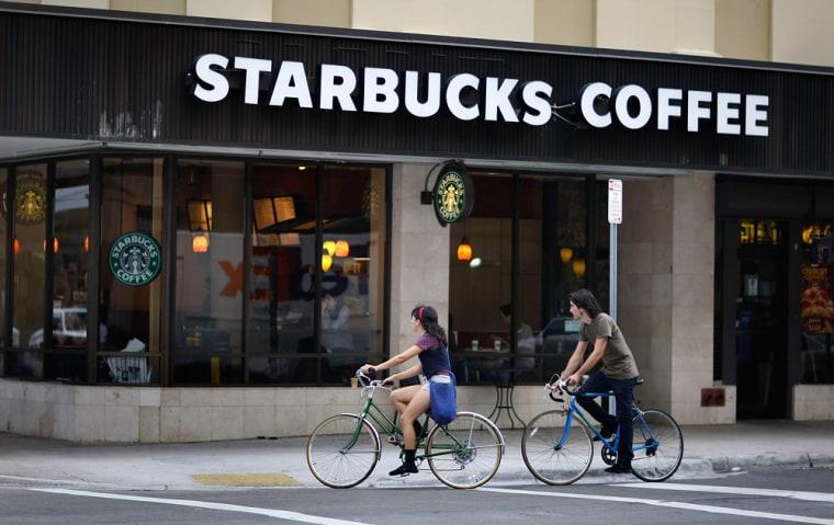 Image: Starbucks store