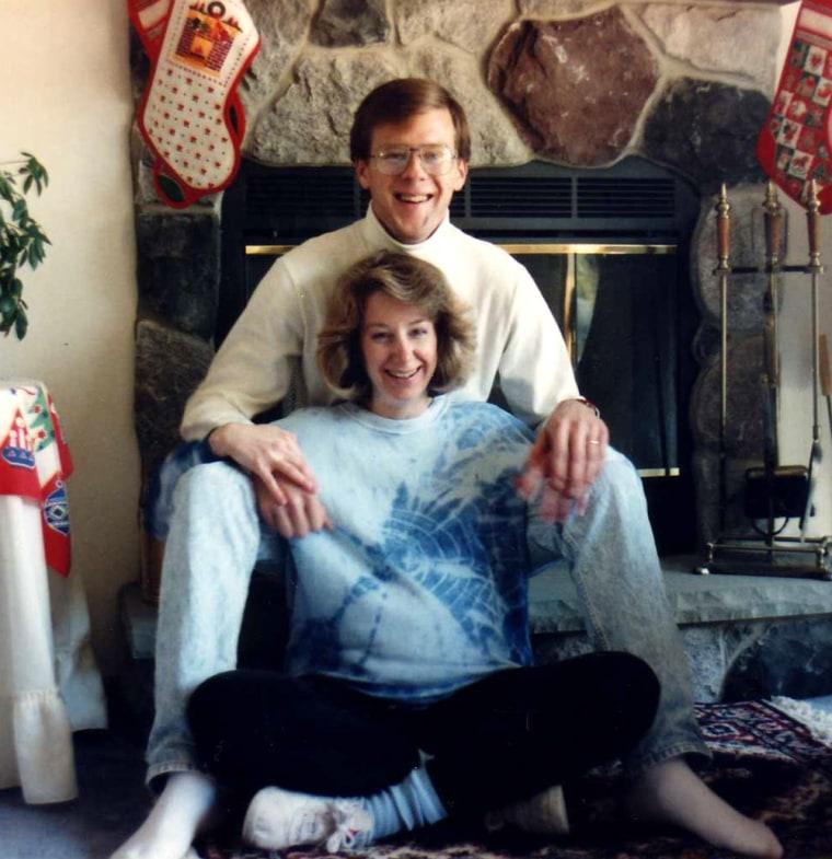 Image: Julie C. Jensen and her husband, Mark D. Jensen