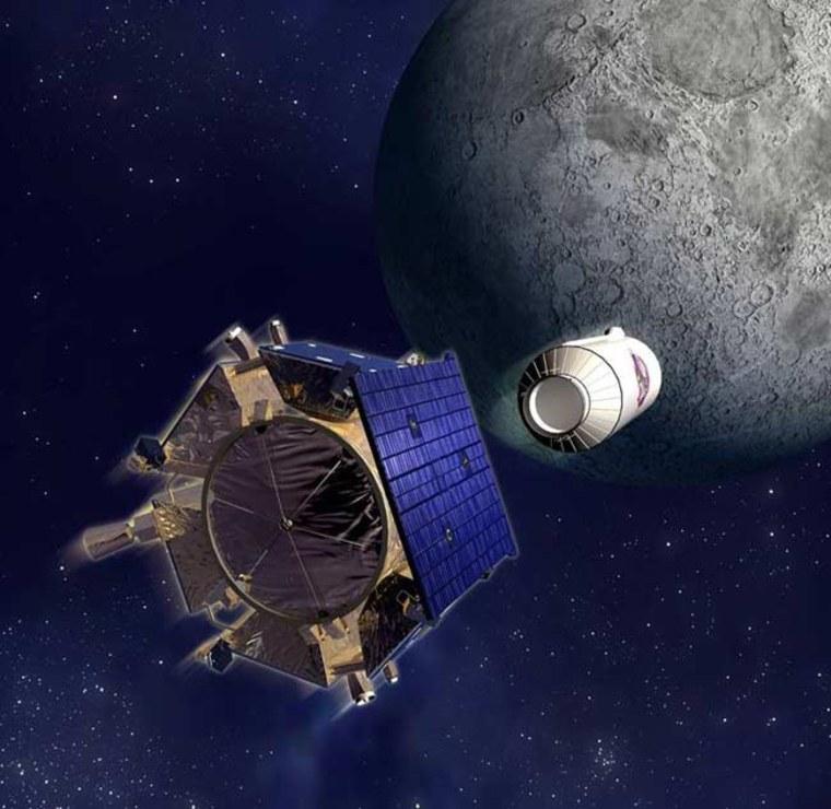 Image: Shepherding Spacecraft
