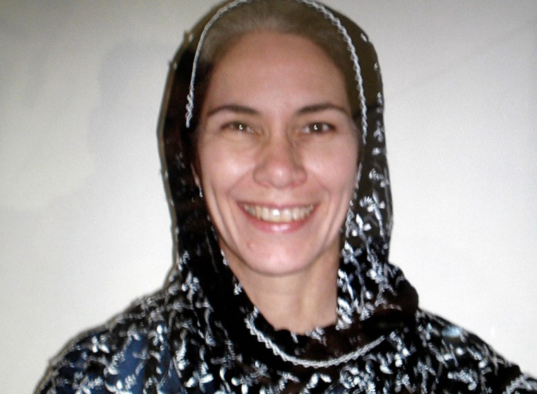 Image: US aid worker Cyd Mizell