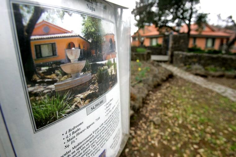 Image: Napa foreclosures