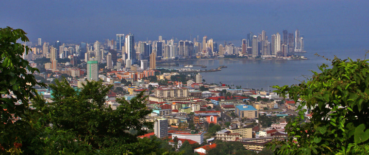 Image: General view of Panama City
