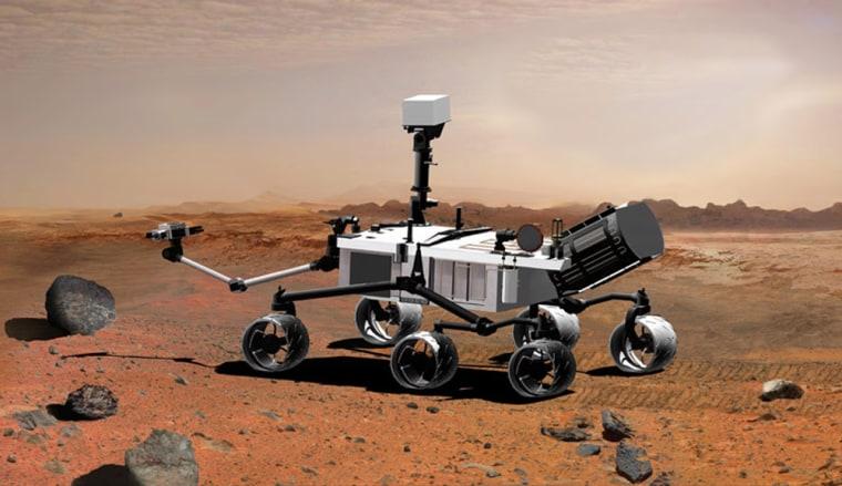 Image: The Mars Science Lab