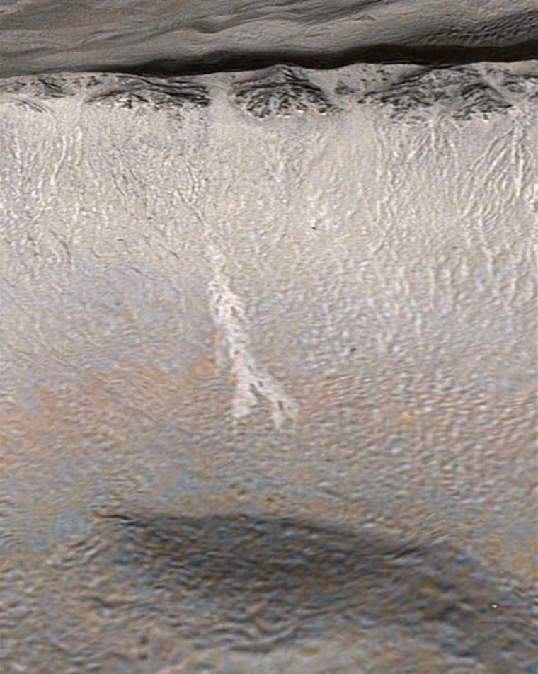 Image: Mars gully activity