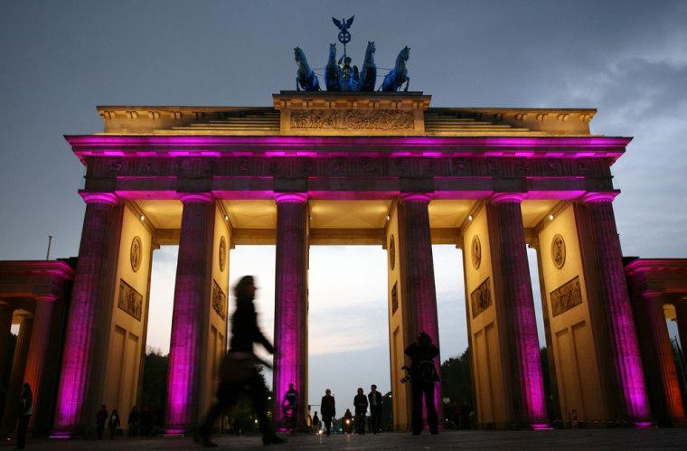 Image: Berlin's landmark Brandenburg Gate