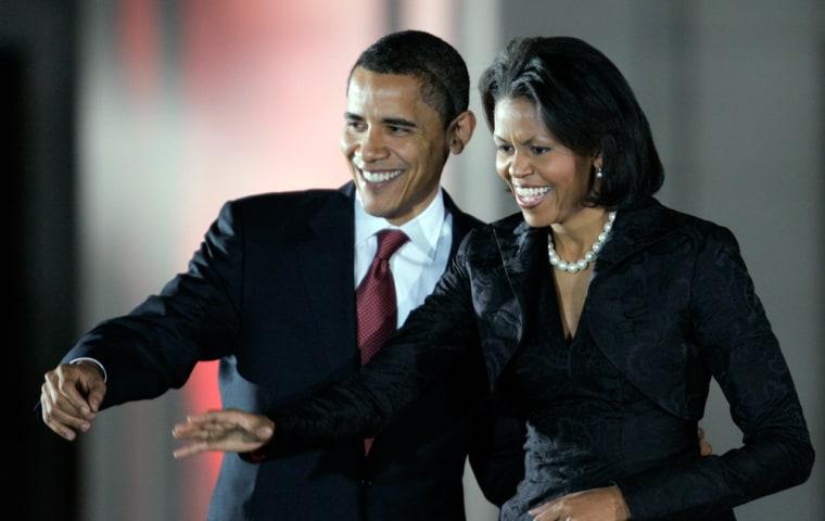 Image: Barack Obama, Michelle Obama