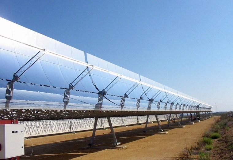Image: Solar mirrors.