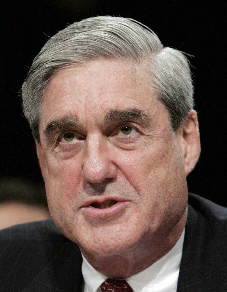 Image: Director of the FBI Robert Mueller
