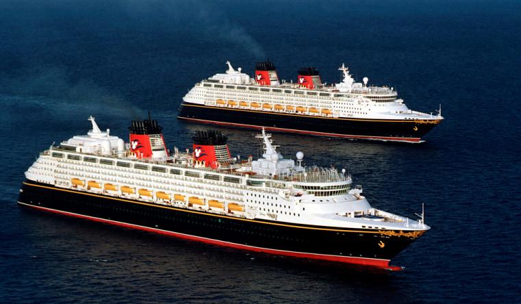 Image: Disney cruise ships