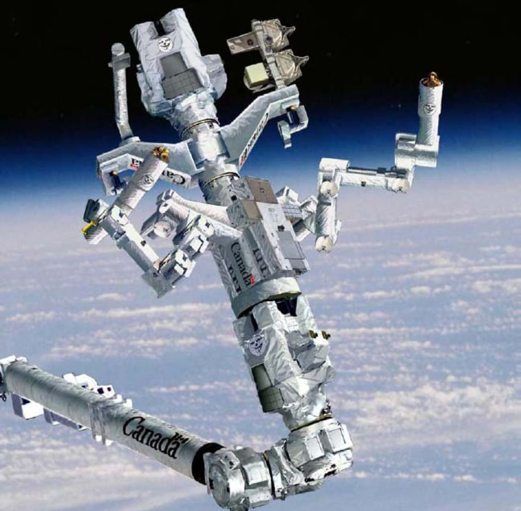 Image: Canadian Space Agency's Dextre maintenance robot