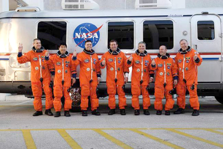 Image: Endeavour's STS-123 crew