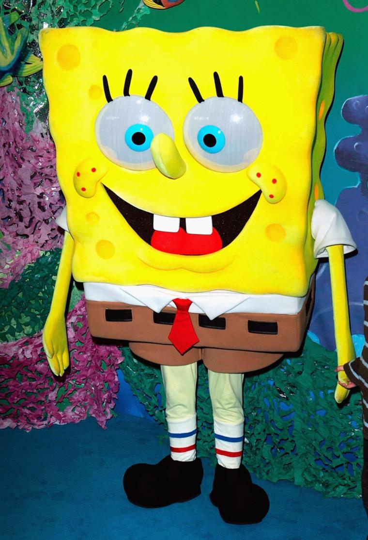 "Image: SpongeBob SquarePants appears at ""The SpongeBob SquarePants Movie"""
