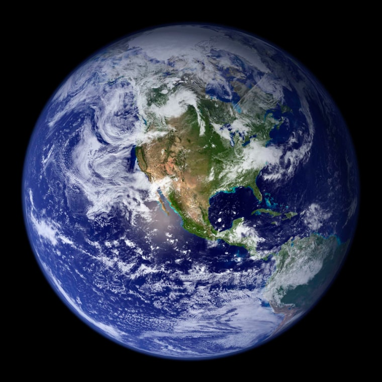 Image: planet Earth from space